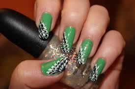 peacock nail art design nails by nataliya