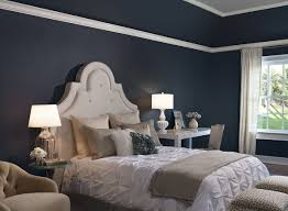 Navy Blue Room Decor Zampco - Bedroom colors blue