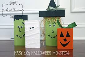 halloween crafts 2015 halloween monsters a quick and easy diy project diy home decor