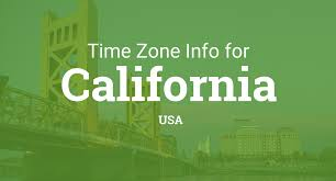 Time Zone Map United States by Time Zones In California United States