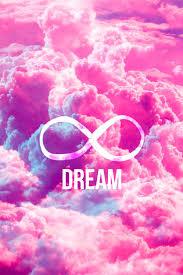 cute backgrounds for computer girly infinity symbol bright pink clouds sky computer sleeve