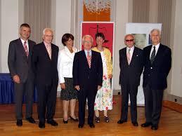 v.l.: Walter Pilgermair, Ludwig K. Adamovich, Sylvia Morscher, Siegbert Morscher, Brigitta Wachter, Hans Klecatsky und Gustav Wachter - morscher2