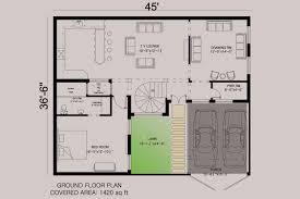 house floor plan by 360 design estate 7 5 marla house
