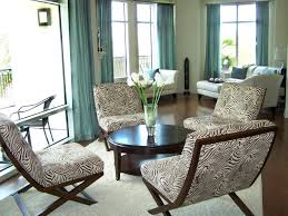 Living Room Curtain Looks Solid Teak Frame With Glass Top Elegant Looks With Turquoise