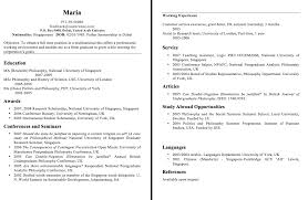 Sample Resume Format Usa by Sample Resume Format For Fresh Graduates Philippines Resumedoc