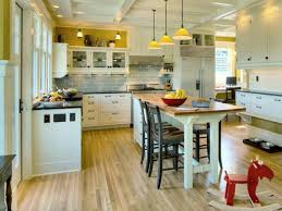 small kitchen island with seating brown varnished wood island