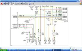 2001 ford f250 radio wiring diagram with 1995 windstar diagram gif