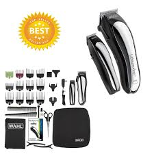 cordless hair clipper kit wahl lithium ion trimmer clippers