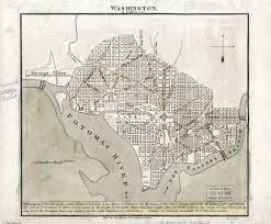 Washington Dc Usa Map by Large Detailed Old Map Of Washington 1815 Washington D C