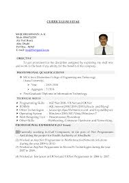 Resume Cover Letter For Freshers Standard Job Resume Resume Cv Cover Letter
