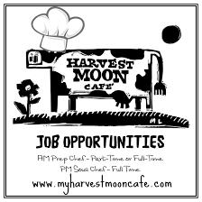 Food And Beverage Supervisor Job Description Harvest Moon Cafe Harvest Moon Cafe Jobs In Rome Ga