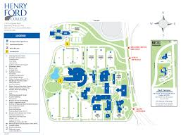 G Map Maps U0026 Campus Directory Henry Ford College