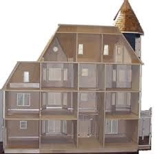 Miniature Dollhouse Plans Free by Glencliff Plan Miniature Dollhouses U0026 Doll House Supplies