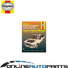 haynes car repair manual book for navara d21 pathfinder wd21