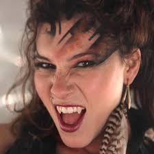 vampire fangs spirit halloween scarecrow deluxe fangs