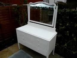 White Shabby Chic Dressing Table by Large Dressing Table Antique Aged Cream White Painted Shabby Chic
