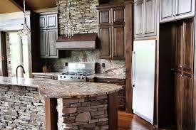 kitchen lavish rustic kitchen black ceiling fan one wall kitchen