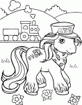 Free worksheets for kid: My little pony coloring pages