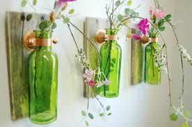 Fixer Upper Living Room Wall Decor Farmhouse Style Glass Bottle Trio Farmhouse Style Wall Decor