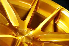 sc 1 brush gold wheel stance wheels