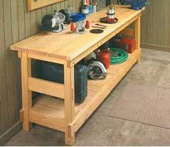 Plans For Building A Wooden Workbench by How To Build Wooden Work Bench Kits Download Gable Carport Plans