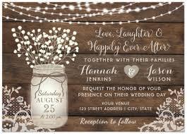 Discount Wedding Invitations With Free Response Cards Best 25 Mason Jar Wedding Invitations Ideas On Pinterest Rustic
