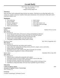 Free Resume Builder Yahoo Best Hair Stylist Resume Example Livecareer