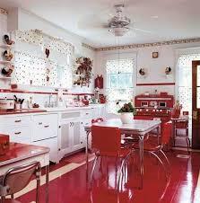 Retro Kitchens 121 Best Retro Red Kitchen Images On Pinterest Red Kitchen