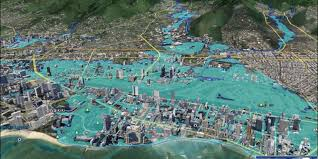 Map Of Waikiki Protecting Waikiki From The Inevitable Flooding Of The Ala Wai