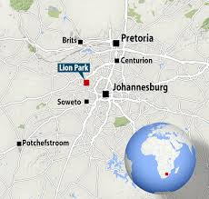 The deadly attack happened in Gauteng Lion Park  around an hour outside of Johannesburg in Daily Mail