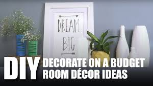 Room Decor Decorate On A Budget Room Decor Diy Mad Stuff With Rob Youtube