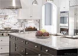 Carrara Marble Tile Backsplash With Black Cabinets  To Review - Carrara tile backsplash