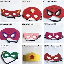 Flash Halloween Costumes Superhero Mask Superman Batman Spiderman Hulk Thor Ironman Flash