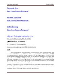 legal ethics case digest      docx SlideShare LANCE M  APOLONIO LEGAL ETHICS Homework Help https   www homeworkping