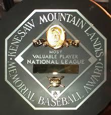 Major League Baseball Most Valuable Player Award