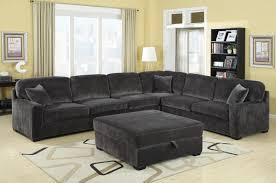 grey sleeper sectional sofa 11 astonishing charcoal grey