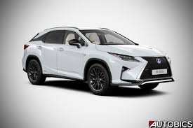 lexus hybrid rx450 lexus rx 450h launched in india availalble in luxury and f sport