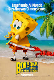 Bob Esponja 2, la película: Un héroe fuera del agua