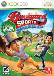 Original Backyard Baseball by Amazon Com Backyard Sports Sandlot Sluggers Xbox 360 Video Games