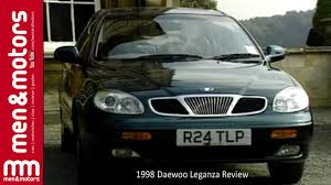 daewoo 1998 daewoo leganza review youtube