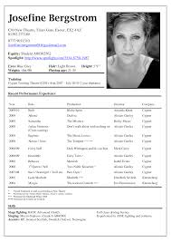 How To Write An Acting Resume  acting cv      beginner acting