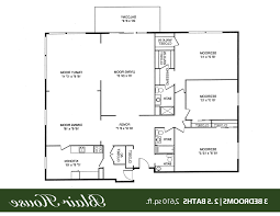 Small 3 Bedroom House Floor Plans by Home Design 653489 Small 3 Bedroom 2 Bath Southern Cottage With
