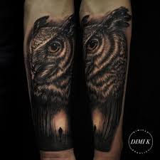 lonely forest owl tattoo best tattoo ideas gallery