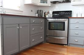 Painting Kitchen Cabinets Blue Blue Grey Painted Kitchen Cabinets Exitallergy Com