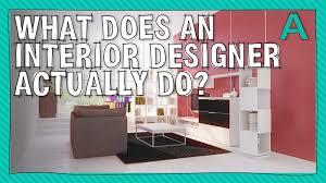 what do interior decorators do what does an interior designer