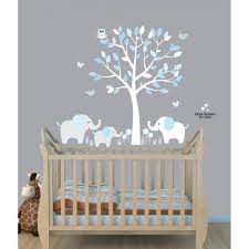 Bedroom Wall Decals Trees Use Elephant Wall Decals And Elephant Stickers To Create An