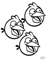 blue angry bird coloring page omeletta me