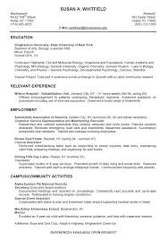 Best Resume Formats For Engineering Students by Download Student Resume Format Haadyaooverbayresort Com