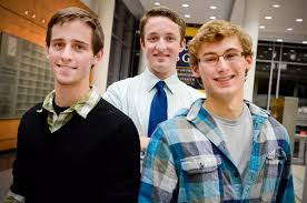 Ryan Melcher, Kai Neander and Chase Hardin – all enrolled in the Elliott School of International Affairs – were selected from a pool of 50 ... - SA-freshmen1_FR