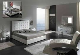 Modern Leather Bedroom Furniture Best Modern King Bedroom Set Gallery Decorating Ideas For Classy